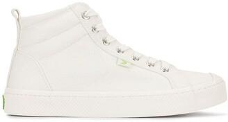 Cariuma OCA High Off White Canvas Sneaker