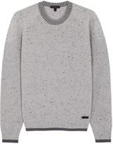 Belstaff Beckington Grey Wool Jumper