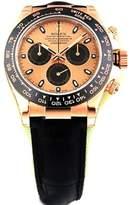 Rolex Daytona Cosmograph 116515 Rose Gold Pink Dial Everose Mens Watch