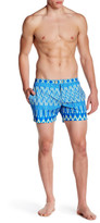 Parke & Ronen Lido Print Stretch Short