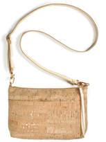 Spicer Bags Gold Cork Crossbody Purse