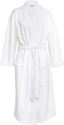 Wallace Cotton Nadine Organic Cotton Robe White