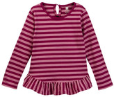 Tea Collection Parejas Ruffled Baby Top (Baby Girls)