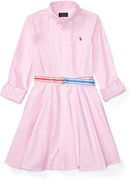 Ralph Lauren 7-16 Cotton Oxford Shirtdress