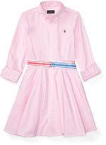 Ralph Lauren Girls 7-16 Cotton Oxford Shirtdress