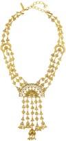Oscar de la Renta Ornate Charm Necklace