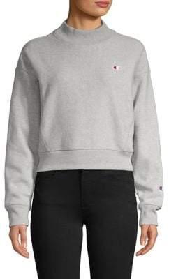Champion Logo Cotton-Blend Sweatshirt