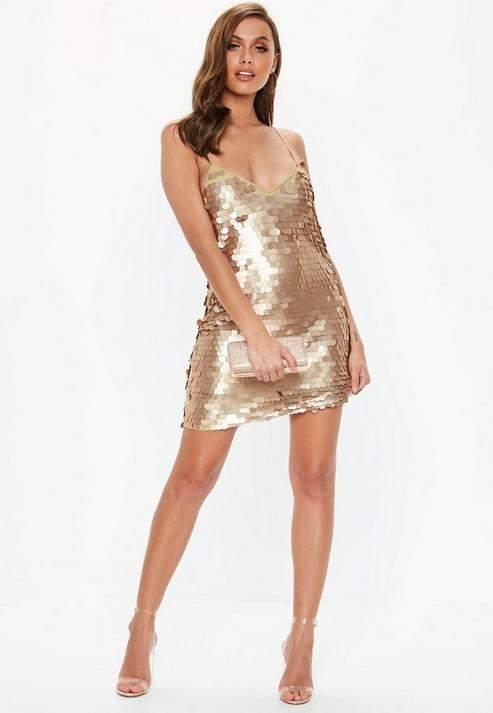 72f1cd0626d92 Gold Slip Dresses - ShopStyle