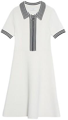 Sandro Paulzy Knit A-Line Dress