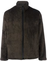 Our Legacy faux fur zipped jacket