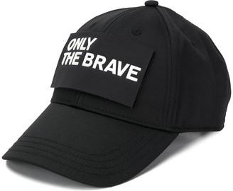Diesel 'only The Brave' Logo Cap