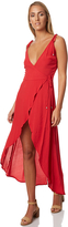 MinkPink Lolita Womens Wrap Dress Red