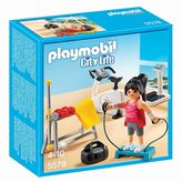 Playmobil Fitness Room Playset - 5578