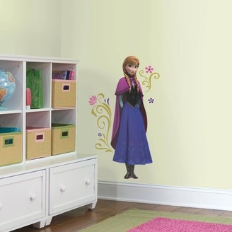 Room Mates Frozen's Anna with Cape Giant Peel and Stick Wall Decals