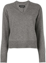 Isabel Marant Chay jumper - women - Cotton/Wool/Yak - 42