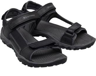 Karrimor Mens Melbourne Leather Strap Sandals Black