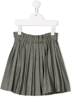 Bonpoint Gingham Straight Skirt