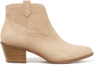 Forever New Naya Western Boots - Sand - 39