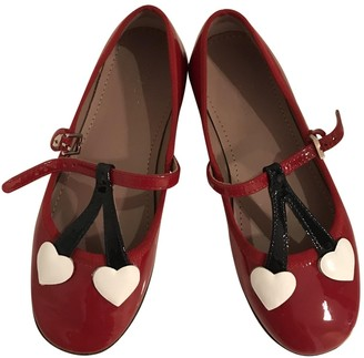 Gucci Red Patent leather Ballet flats