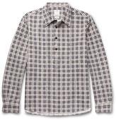Visvim Checked Cotton-flannel Shirt