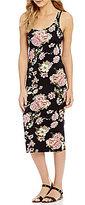Billabong Share Joy Floral-Printed Midi Dress
