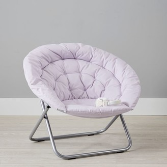 Pottery Barn Teen Canvas Lilac Hang-A-Round Chair
