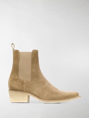 Amiri Cuban heel Chelsea boots