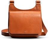 Shinola Small Field Leather Crossbody Bag - Brown