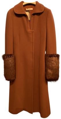 Prada Brown Wool Coats