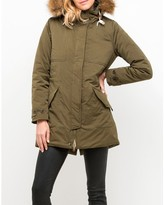 Lee Cotton Mix Long Parka