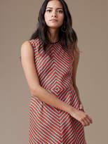 Diane von Furstenberg Sleeveless Tailored Shift Dress
