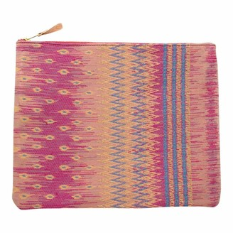 General Knot & Co Large Vintage Thai Tapestry Laptop Sleeve/ Carryall