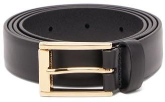 Dolce & Gabbana Leather Belt - Mens - Black