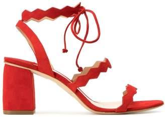 The Seller spike strap slingback sandals