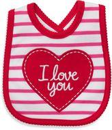 Carter's I Love You/Red Stripe Bib