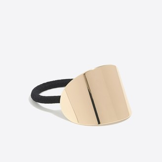 J.Crew Curved metal hair elastic