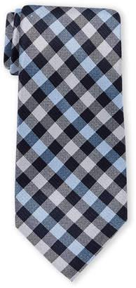 Michael Kors Playful Gingham Silk Tie