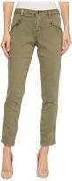 Jag Jeans Ryan Skinny Colored Knit Denim in Silver Pine Women's Jeans