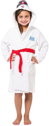 Intimo Bath Robes White - Frosty the Snowman Hooded Robe - Kids