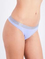 Calvin Klein Radiant stretch-cotton thong