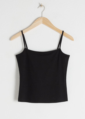 And other stories Organic Stretch Cotton Tank Top