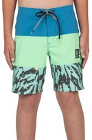 Volcom Boy's Chopped Riff Jammer Board Shorts