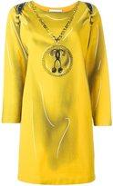 Moschino trompe-l'œil backpack dress - women - Nylon/Spandex/Elastane/Rayon - 36