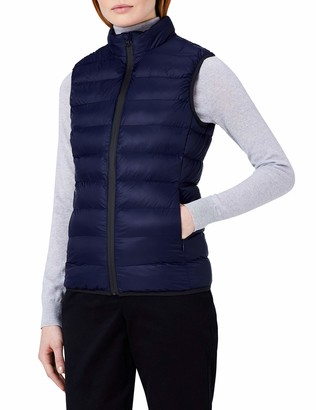 Meraki Amazon Brand Women's Padded Gilet with High Neck