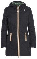 K-Way Women's Black Polyamide Outerwear Jacket.