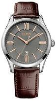 HUGO BOSS Mens Ambassador Stainless Steel Watch