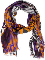 Matthew Williamson Abstract Print Scarf