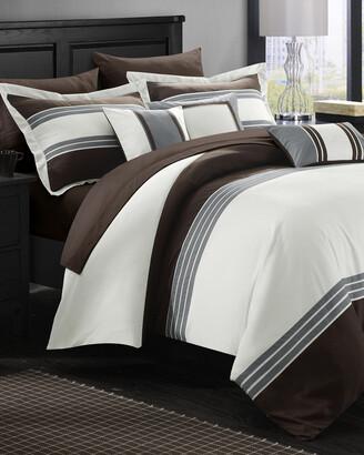 Chic Home Karsa Hotel Comforter And Sheet Set