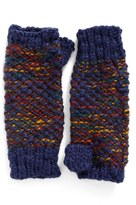 Steve Madden Women's Nubby Knit Fingerless Gloves