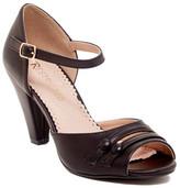 Restricted Deka Two Button Heel Sandal